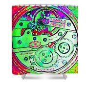 Time In Abstract 20130605m72 Square Shower Curtain