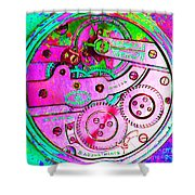 Time In Abstract 20130605p108 Square Shower Curtain