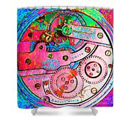 Time In Abstract 20130605p144 Square Shower Curtain