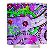 Time In Abstract 20130605p72 Long Shower Curtain