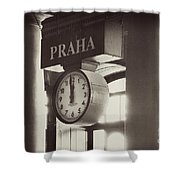 Time In History Shower Curtain