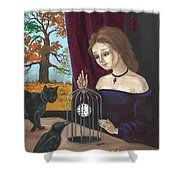 Time In The Cage Shower Curtain