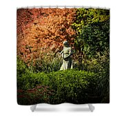 Time In The Garden Shower Curtain