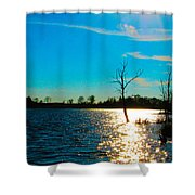 Time In The Sun Shower Curtain