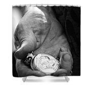 Time Is On My Side  Shower Curtain