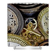 Time Long Gone Shower Curtain