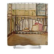 Time Out II Shower Curtain