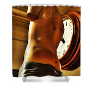 Time Passage Shower Curtain