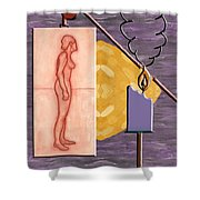 Time Running Out Shower Curtain