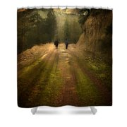 Time Stand Still Shower Curtain