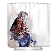 Time To Reflect Shower Curtain