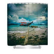 Time To Rest Shower Curtain