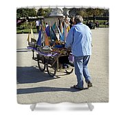 Time To Sail Away 1 Shower Curtain