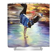 Time To Shake Things Up Shower Curtain
