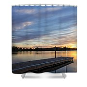 Time To Unwind Shower Curtain