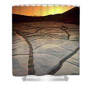 Timeless Death Valley Shower Curtain