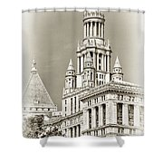 Timeless- New York City Hall Shower Curtain