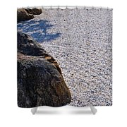 Timeless Zen Shower Curtain by Joy Hardee