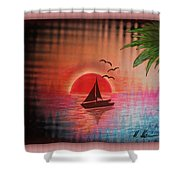 Timeout Vision Shower Curtain