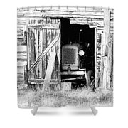 Time's Passing Shower Curtain