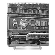 Times Square Advertising Shower Curtain