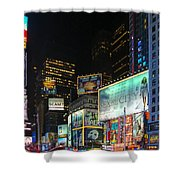 Times Square In 2010 Shower Curtain