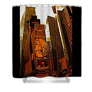 Times Square In Manhattan Shower Curtain