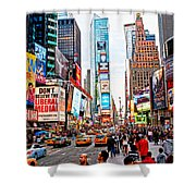 Times Square - New York City Shower Curtain