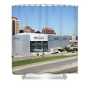 Times Union Center Shower Curtain