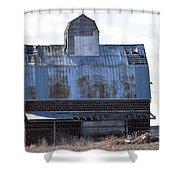 Tin Grainery Shower Curtain
