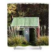 Tin Hut Shower Curtain