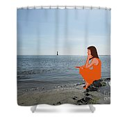 Tin Whistle 3 Shower Curtain by Patrick J Murphy
