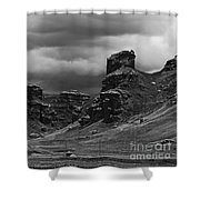 Tinajani Canyon Near Puno Peru Shower Curtain