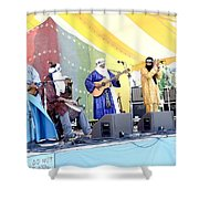 Tinariwen Shower Curtain
