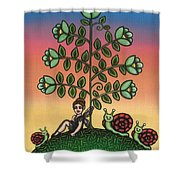 Tinas Family Shower Curtain