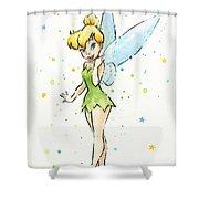 Tinker Bell Shower Curtain
