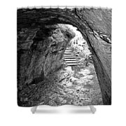 Tintagel Fogou 1 Shower Curtain