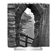 Tintagel Portal 1 Shower Curtain