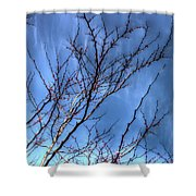 Tiny Blossoms Shower Curtain