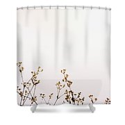 Tiny Flowers Shower Curtain