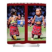Tiny Jingle Dancer Shower Curtain
