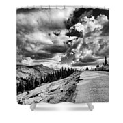 Tioga Pass Shower Curtain