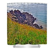 Tip Of Cape D'or-ns Shower Curtain