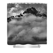 Tips Of The Tantalus Shower Curtain