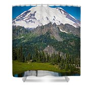 Tipsoo Moonset Shower Curtain