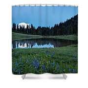 Tipsoo Morning Meadows Shower Curtain