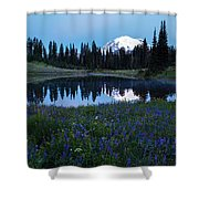Tipsoo Reflection Tranquility Shower Curtain