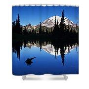 Tipsoo Sunrise Shower Curtain by Mark Kiver