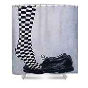 Tiptoes Shower Curtain