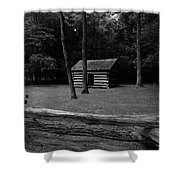 Tipton Place In Cades Cove Shower Curtain